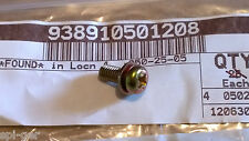 Genuine Honda NEW 5x12 Washer Screw P/No. 93891-0501208