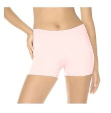 NWT Women's SPANX Hide and Sleek Smoothing Girl Short Soft Pink LARGE Style 165