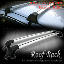 Roof Rack Rail Carries Bike Kayak Ski Snowboard Luggage Cross Bar with Lock