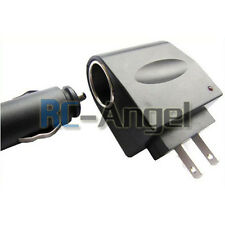 New 110V - 240V AC Plug To 12V DC Car Cigarette Lighter Converter Socket Adapter
