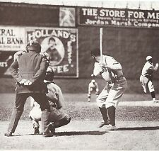 BABE RUTH CLASSIC LEFTY HOME RUN BATTING STANCE WAITING FOR THE BALL TO COME IN