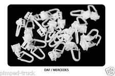Curtains hooks for truck  DAF,  MERCEDES (25 pieces)