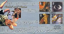 2000 Sound & Vision-Steven SCOTT PLATINUM UFFICIALE-solo 100 PRODOTTO!!