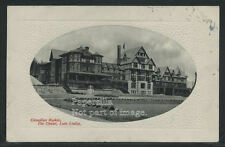 Sharp AB Lake Louise OVAL ROTOGRAVURE 1912 THE CHALET by PNC Glosso No.2578W