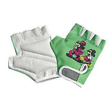 GOAT LEATHER / PRINTED LYCRA CUT FINGER CYCLE GLOVES CYL-561 KIDS/CHILDREN