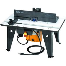 Bench-top Router Table with 1-3/4 HP Router 11 amps
