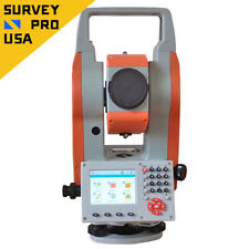 "Windows CE 2"" Smart Reflectorless Total Station Bluetooth Surveying Construction"