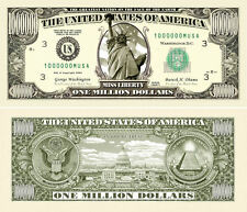 Wholesale Lot of 100 - Traditional Million Dollar Bill