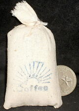 Market Coffee Sack 1:12 Store Western Dry Goods Miniature Cowboy WO1905(2)