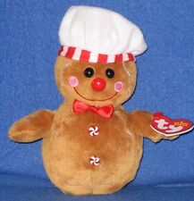 TY GOODY the GINGERBREAD MAN BEANIE BABY - MINT with MINT TAGS