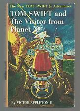 TOM SWIFT AND THE VISITOR FROM PLANET X picture cover 1962  Excellent++