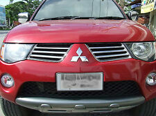CHROME FRONT GRILL GRILLE MITSUBISHI L200 ANIMAL WARRIOR TRITON ML 2005-2008