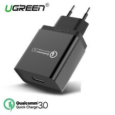 Ugreen Qualcomm Quick Charge QC 3.0 18W USB Wall Charger Rapid Fast Turbo Pixel