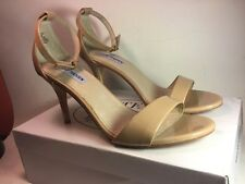 Steve Madden Silly Blush Nude Patent Women Heels women sandals shoes Sz 8 M NWB