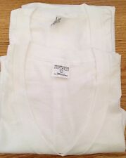 Lot 2 Vintage JOHN WEITZ Brand, 100% Combed Cotton Soft Thin T Shirt. Size L