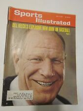 1965 Sports Illustrated Magazine May 17 Bill Veeck's Explosive New Book Baseball