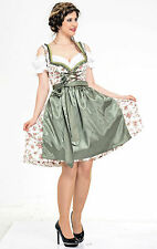 Germany,German,Trachten,May,Oktoberfest,Dirndl Dress,3-pc.Sz.20.Pale Green