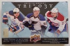 2013-14 Upper Deck Trilogy Hockey HOBBY Box 3 Rookie Auto, Patch/Jersey?