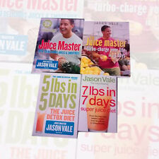 Jason Vale Collection 4 Books Set (The Juice Detox Diet) Paperback Brand New