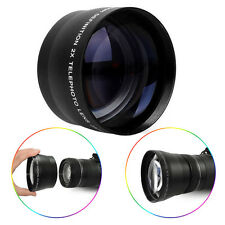 67mm 2.2X Magnification Telephoto Tele Convert Lens for Digital Camera Camcorder