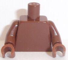 Lego Torso x 1 Reddish Brown for Miinifigure