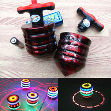1Pc Classic Peg-Top Toy Laser LED Light Music Spinning gyro Child Kids Gift Fun