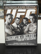 UFC 103: Franklin vs. Belfort (DVD) Cro Cop Vs Dos Santos, ANCHOR BAY DVD! NEW!