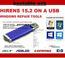 WINDOWS 7 / 8.1/ 10/ VISTA AND XP UTILITIES REPAIR TOOLS BOOTABLE USB