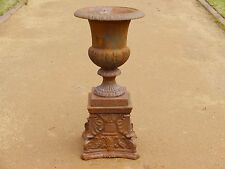 Cast Iron Urn Planter CHAMBORD | RUST | Melb Pick Up