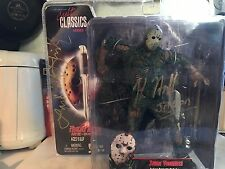 Jason Vorhees Friday The 13th Part 7 Signed Figure With Mask