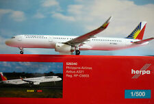 Herpa Wings 1:500  Airbus A321  Philippine Airlines RP-C9903  526340