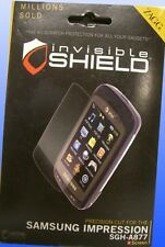 BRAND NEW ZAGG Invisible Shield for Samsung Impression SGH-A877