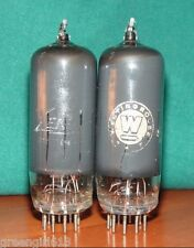 2 Smoked 12BY7 Vacuum  Tubes