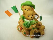 Cherished Teddies Theodore Samantha & Tyler Irish 2009 NIB SIGNED