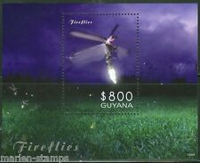 GUYANA 2014 FIREFLIES SOUVENIR SHEET   MINT NH