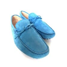 W-1450140 New Tods Bluette Suede Loafers Shoes Mocassins Marked Size 7.5 US 8.5