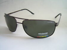 POLAROID SUNGLASSES AVIATOR GUNMETAL GREEN POLARISED P4307C 09Q RC BNWT GENUINE