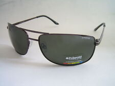 POLAROID SUNGLASSES GUNMETAL GREEN POLARISED P4307C 09Q RC BNWT GENUINE