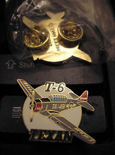 SMALL AIRCRAFT HAT PIN - T-6 TEXAN