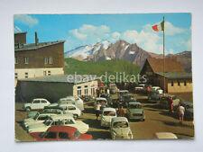 PASSO SELLA Marmolada Sellajoch Trento Bolzano vecchia cartolina  FIAT 600
