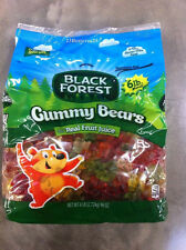 Black Forest Gummy Bears Candy 6 lb BULK BAG Gummi Gummies Candies FREE SHIPPINH