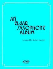 An Elgar Saxophone Album Learn to Play Tenor Alto Piano SAX Sheet Music Book