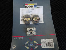 RARE NOS NEW LOOK S2 VINTAGE CLEATS 90'S MTB SHOES ATB