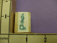 Statue Chess piece  RUBBER STAMP 33K