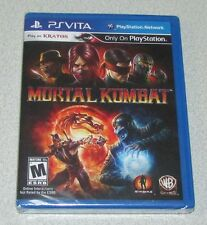 Mortal Kombat for Playstation Vita Brand New! Factory Sealed!