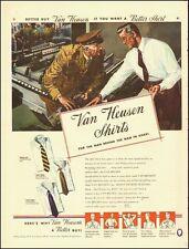 1942 Vintage ad for Van Heusen Shirts`Art (061114)