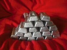 50 lb  wheel weights lead ingots hard lead reloads bullets bank sinkers