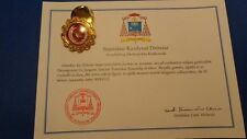 1st class reliquary relic of St. Faustina Kowalska with certificate and seal