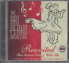 "ART PERKO  ""Reunited""  NEW SEALED SLOVENIAN STYLE POLKA CD"