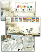 HARRY POTTER ROYAL MAIL FIRST DAY COVER SET